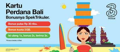 Kartu Perdana Bali
