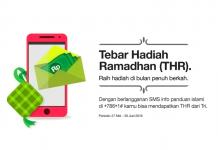 Idul Fitri Bersama Tri