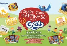 share your happiness with gery
