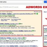 Contoh iklan di Google AdWords