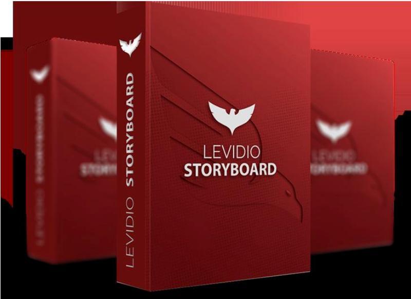 levidio - story board - contoh mascot character