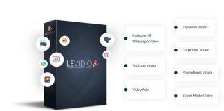 Levidio Volume 5, Edit Video Presentasi Dengan Cara Mudah