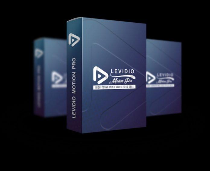 Levidio Motion Pro, Template Atraktif Penunjang Presentasi Unik
