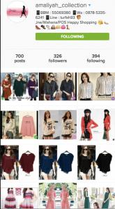 Salah Satu Online Shop Di Instagram - Tips Berjualan Di Instagram