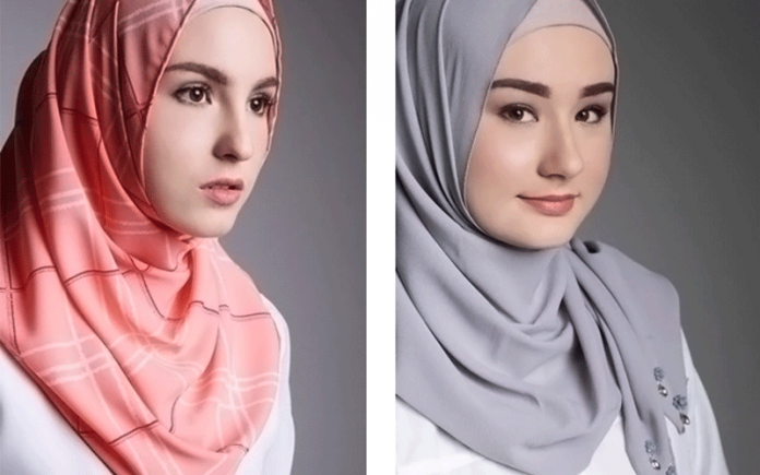gaya hijab simple