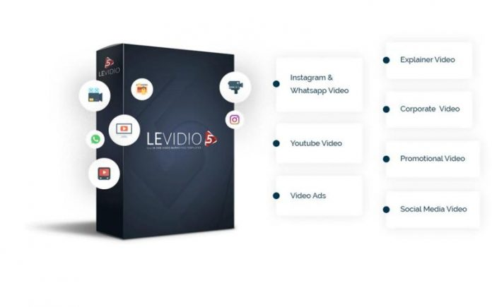 Levidio Volume 5, Edit Video Presentasi Dengan Cara Mudah