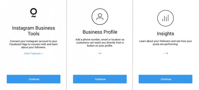 Akun bisnis pada Instagram