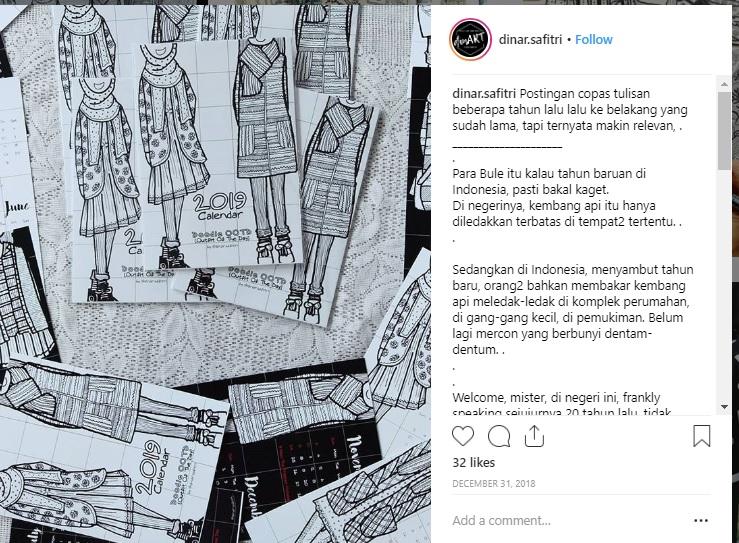 doodle art mampu menjadi lahan bisnis yang menjanjikan
