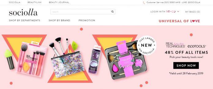 Sociolla platfrom belanja online produk kecantikan