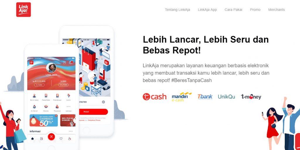 Link aja Dompet Digital Inovasi BUMN
