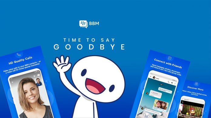 BBM ucapkan selamat tinggal
