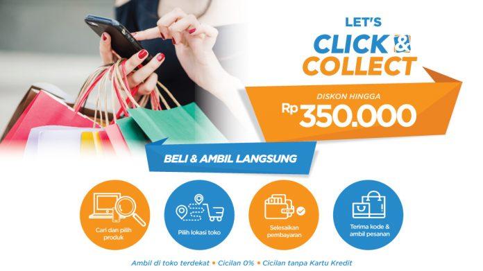 blibli resmikan fitur click&collect untuk mempermudah belanja online di retail offline, menghadirkan suasana belanja dengan gaya baru